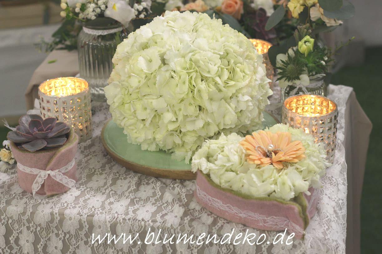 Blumendeko Hochzeitstage 2018