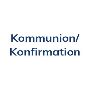 Blumenschmuck für Kommunion und Konfirmation
