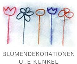 Blumendeko Ute Kunkel Logo