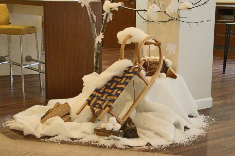 Marriott Dekoration zur Winterzeit